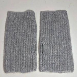 Halogen 100% Cashmere Rib Knit Arm Warmer